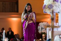 Cute Indian bridesmaid capture.