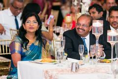 Indian wedding reception capture.