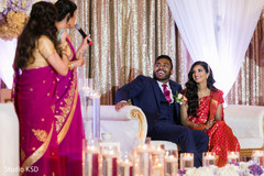 Indian bridesmaids speech scene.