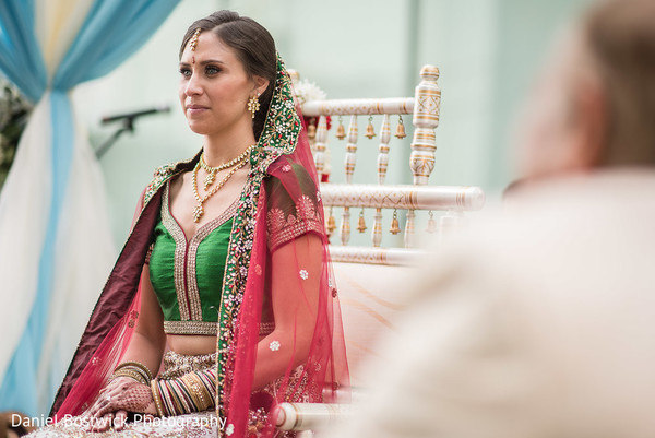 Dazzling Maharani at the ceremony