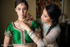 Dazzling Maharani moments before the ceremony