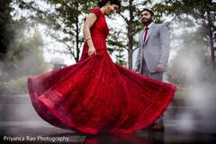 Maharani showing her beautiful gown