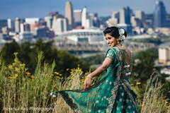 Maharani posing outdoors