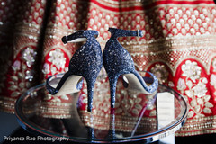 Shoes worn by the Indian bride