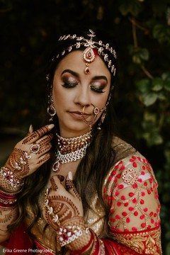 Fabulous indian bride look