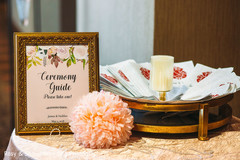 Ceremony guide table