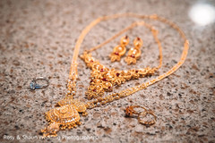 Close up of Maharani's jewelry