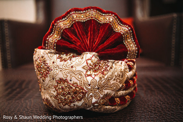 Pagri used by Indian groom