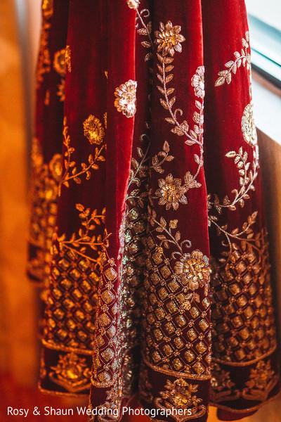 Lengha details of the Maharani