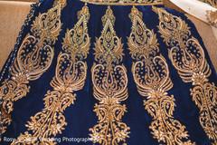 Indian bridal lengha details