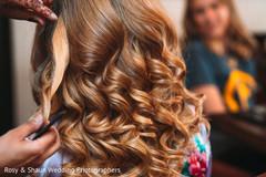 Flawless indian bride hair