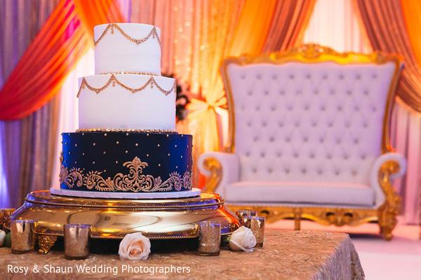 Indian wedding tier cake