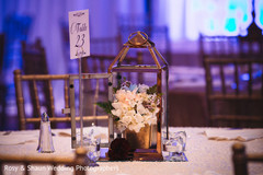 Indian wedding table decor design