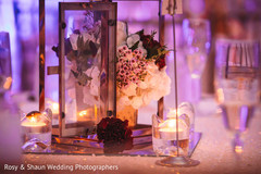 Romantic indian wedding centerpieces