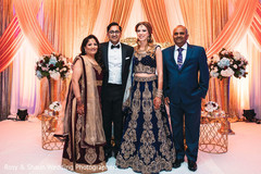 Indian wedding family portrait