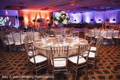 Lovely indian wedding venue lighting