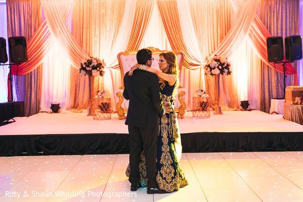 Indian wedding first dance moment