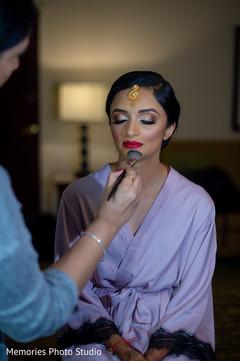 Flawless Maharani's makeup capture.