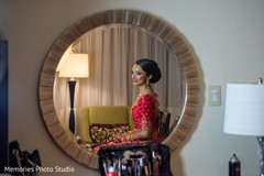 See this lovely Indian bride ready for her big day.