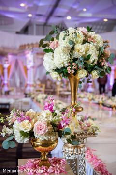 Dreamy Indian wedding flowers decoration.