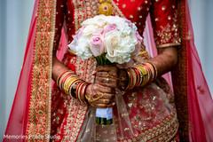 Marvelous Indian bridal bouquet.