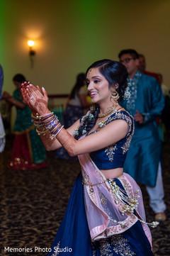 Indian bride incredible sangeet dance capture.