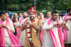 Baraat upbeat Indian groom's dance.
