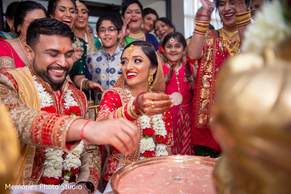 Indian wedding ceremony rituals capture.