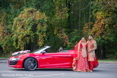Incredible photo session for Indian bride and groom.