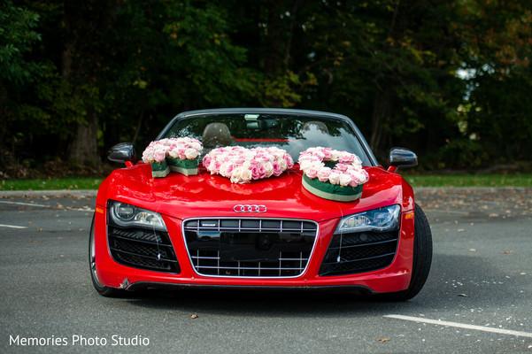 Stunning Indian  wedding vehicle.