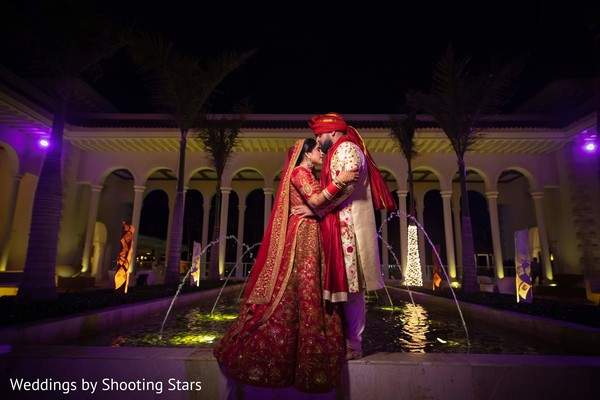 Outdoor themed Indian bride and groom photo session.