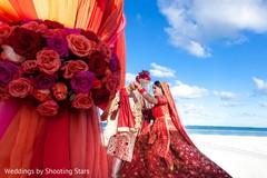 Amazing Indian bride and groom photo.
