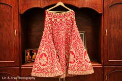 Marvelous Indian bridal lengha skirt.