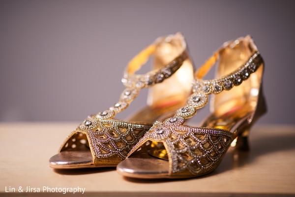 Fabulous indian bride shoes capture