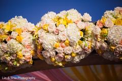 Marvelous Indian wedding mandap flowers decoration.