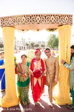 Maharajah entrance to his wedding ceremony photo.
