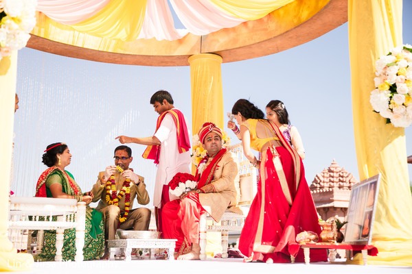 See this lovely traditional indian wedding ceremony.