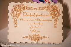 Marvelous Indian wedding guest book sign.