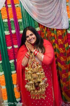 Beautiful Maharani prior to the ceremony