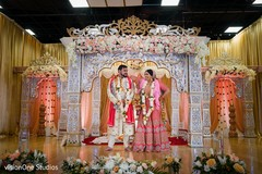 Indian newlyweds looking amazing