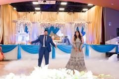 Maharani and Raja performing a choreography
