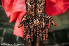 Incredible Indian bridal mehndi art closeup capture.
