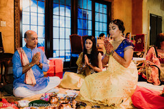 Stunning Indian bridal haldi look.