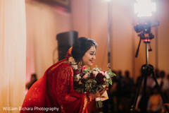 Lovely bride at her ceremony capture.