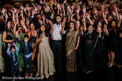 Wonderful Indian wedding reception photography.