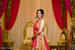Adorable Indian bride photography.