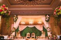 See this dreamy Indian wedding ceremony mandap.
