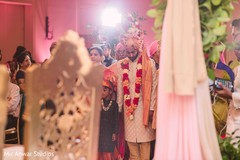 Indian groom at his ceremony capture.