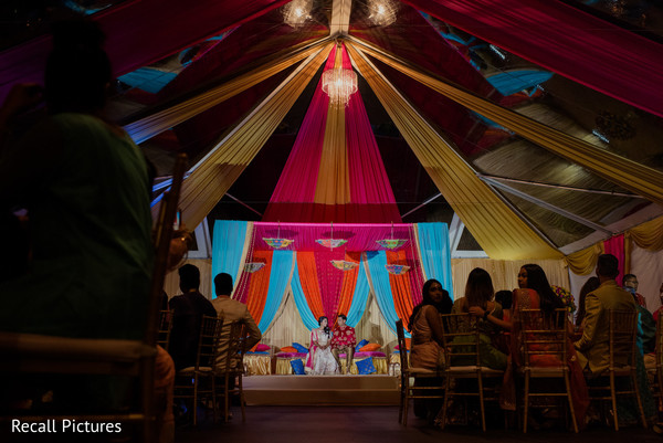 See this incredible sangeet stage capture.
