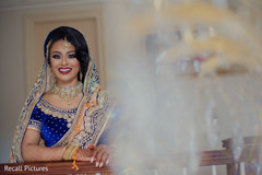 Marvelous Indian bridal on her reception outfit capture.